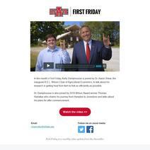 First Friday: May 2019
