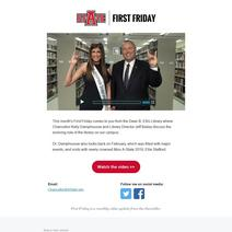First Friday: March 2019