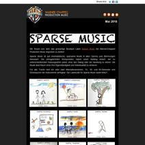 Neues Label: Sparse Music | WCPM Mai 2018
